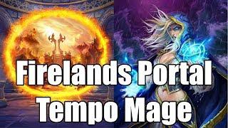 [Hearthstone] ONiK Experiments: Firelands Portal (Tempo Mage)