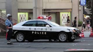 【赤色灯点灯】熊本県警察 熊本中央署 中央66、交通覆面パト