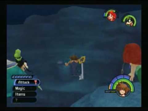 Kingdom Hearts Walkthrough Part 49 - Atlantica - YouTube