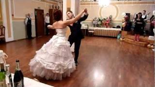 Первый танец молодых Михаил и Мария 26.02.2011