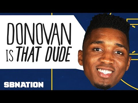 You can already tell Donovan Mitchell is a star