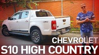 Chevrolet S10 High Country - Pronta para o asfalto? - A Roda #66