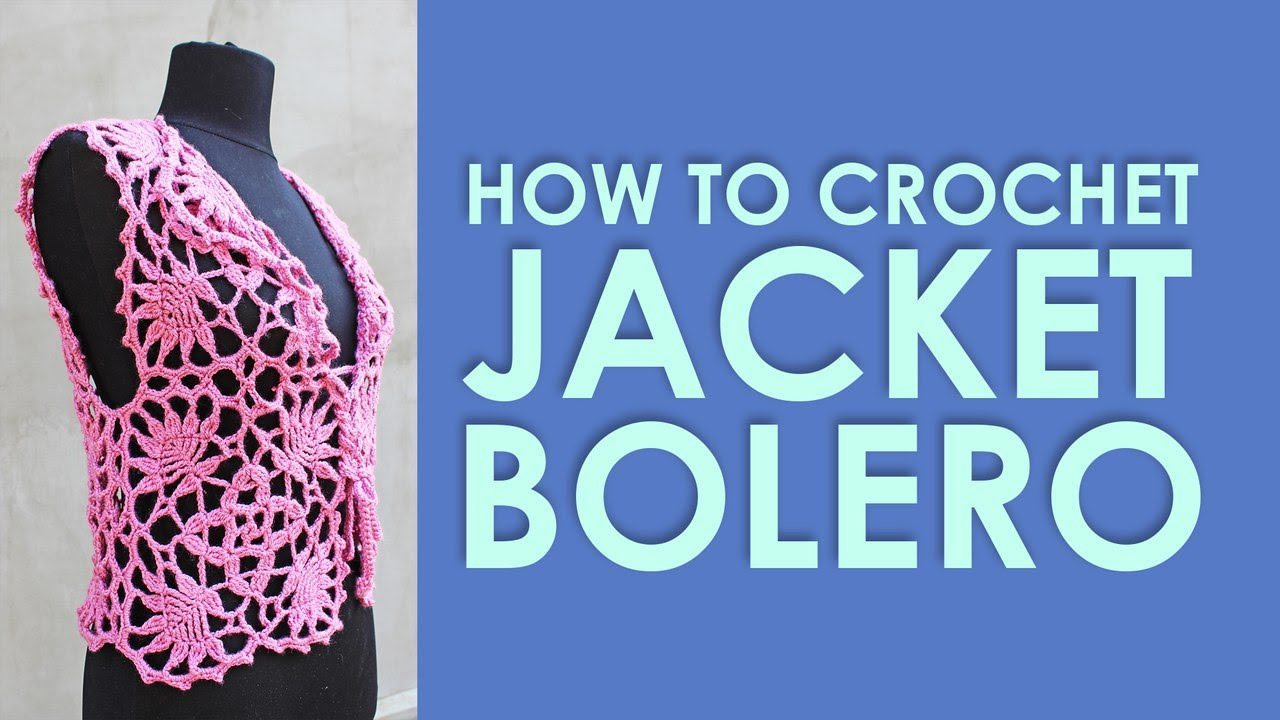 How to crochet rose jacket bolero lace square crochet tutorial how to crochet rose jacket bolero lace square crochet tutorial free pattern by wwwika youtube bankloansurffo Image collections