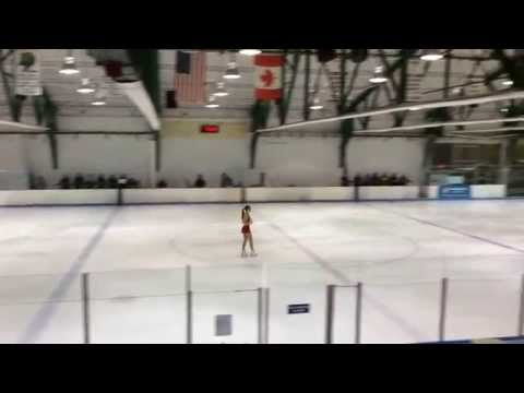 2014 Mid Atlantic's Sydney's Senior Free Skate program