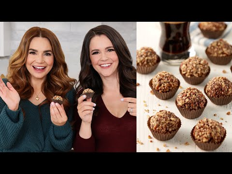 Making German Chocolate Stout Truffles for Fathers Day w/ My Sister!