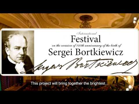 Crowd Funding for Artist's arrival to Bortkiewicz Festival