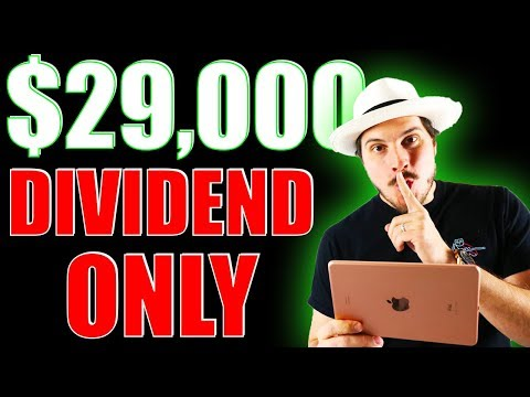 My $29,000 DIVIDEND STOCKS ONLY ACCOUNT! DIVIDEND INVESTING 2020