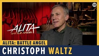 Christoph Waltz Talks 'Alita: Battle Angel'