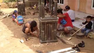 Cara Membuat Gapura Bambu Kreatif dan Unik #1