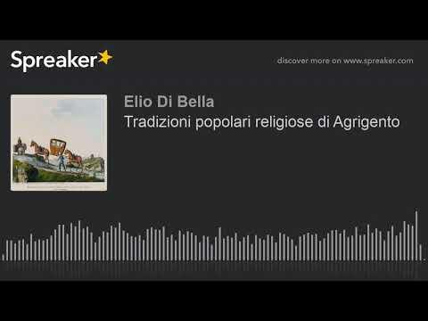 Tradizioni popolari religiose