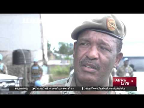 South African soldiers in DR Congo receive Christmas gifts