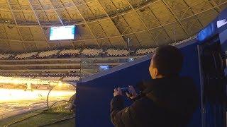 ЗАПУСТИЛ FIFA 19 НА СТАДИОНЕ