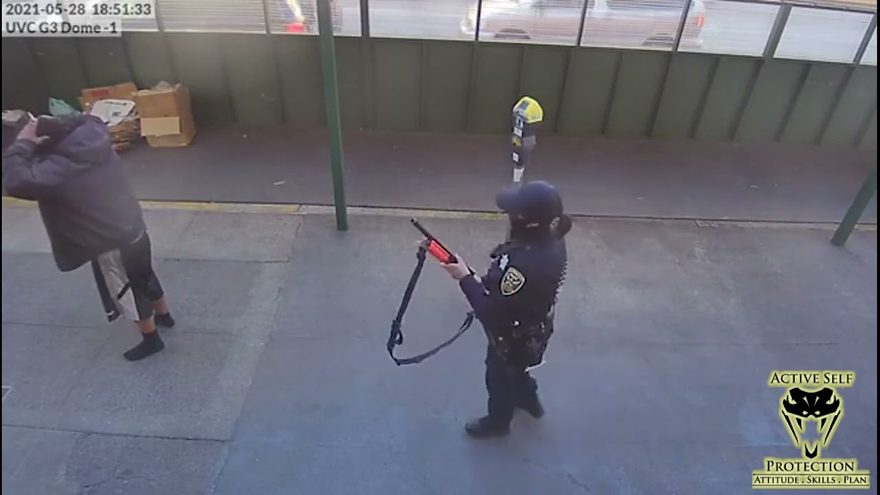 San Francisco Officer Responds To Man Making Threats