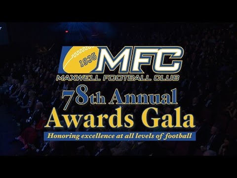 The 78th Annual Maxwell Football Club Awards Gala (Part 2)