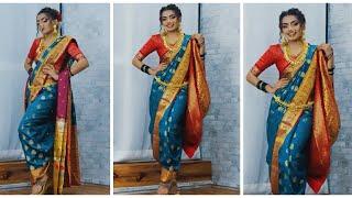 Poses In Nauvari Saree Saree Poses Photoshoot Poses In Sareesaree Poses For Girls Poses In Saree