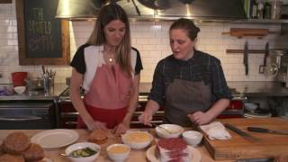 Eden Eats NYC, with chef April Bloomfield (burger)