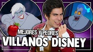 RANKING: Villanos Disney - Peor a Mejor | Caja de Peliculas