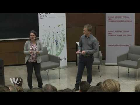 "Mariana Mazzucato im Gespräch mit Christian Kern: ""Public Investment and inclusive Growth"""