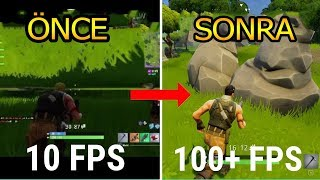 how to make the fps on fortnite better on mac