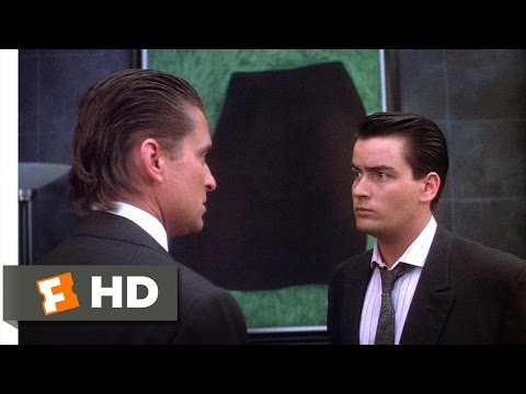 Wall Street (5/5) Movie CLIP - How Much is Enough? (1987) HD