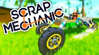 A Year of Scrap Mechanic Creations! - Scrap Mechanic Gameplay