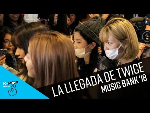 Llegada de Twice a Music Bank en Chile | K-Pop Match
