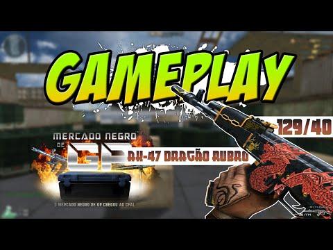 [CF] Gameplay #75 - AK-47-S-Dragão Rubro, Mercado Negro de GP!