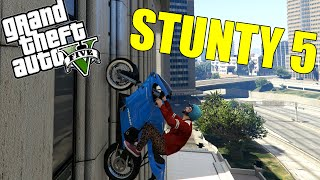 Grand Theft Auto 5 - STUNTY 5 - WALL RIDE