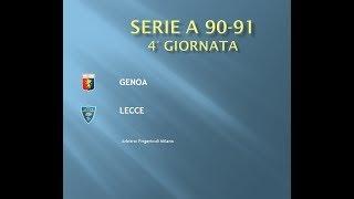 Old Subbuteo: Serie A 90-91: 4° Genoa-Lecce