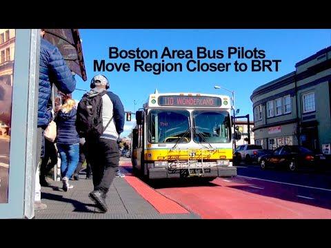 Boston Area Bus Pilots Move Region Closer To BRT