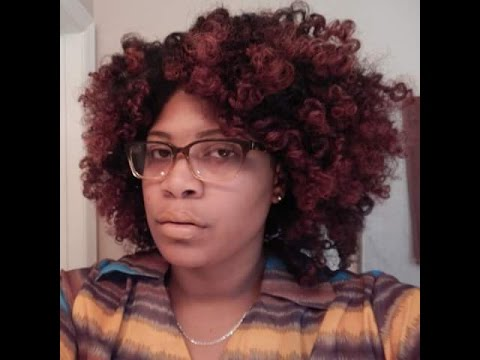 Pin Curl Set Demo *Inspired by Chime Edwards* Natural Hair
