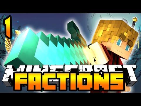 "Minecraft Treasure Wars Adventure ""Treasure Hunt"" Episode 1 (Minecraft Factions)"