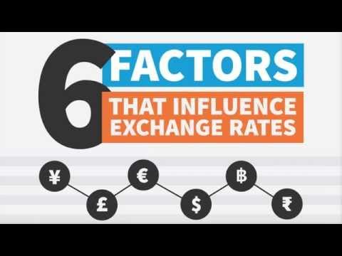 What Influences Exchange Rates?
