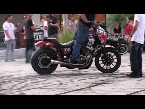 Harley Davidson of TAMPA, FL - Stunt Show @ Bike Night