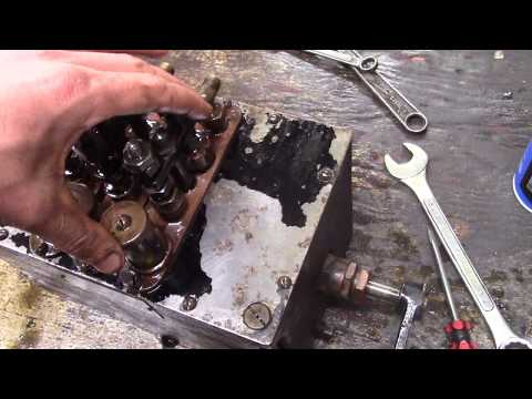 McCord Force Feed Oiler Disassembly And Repair