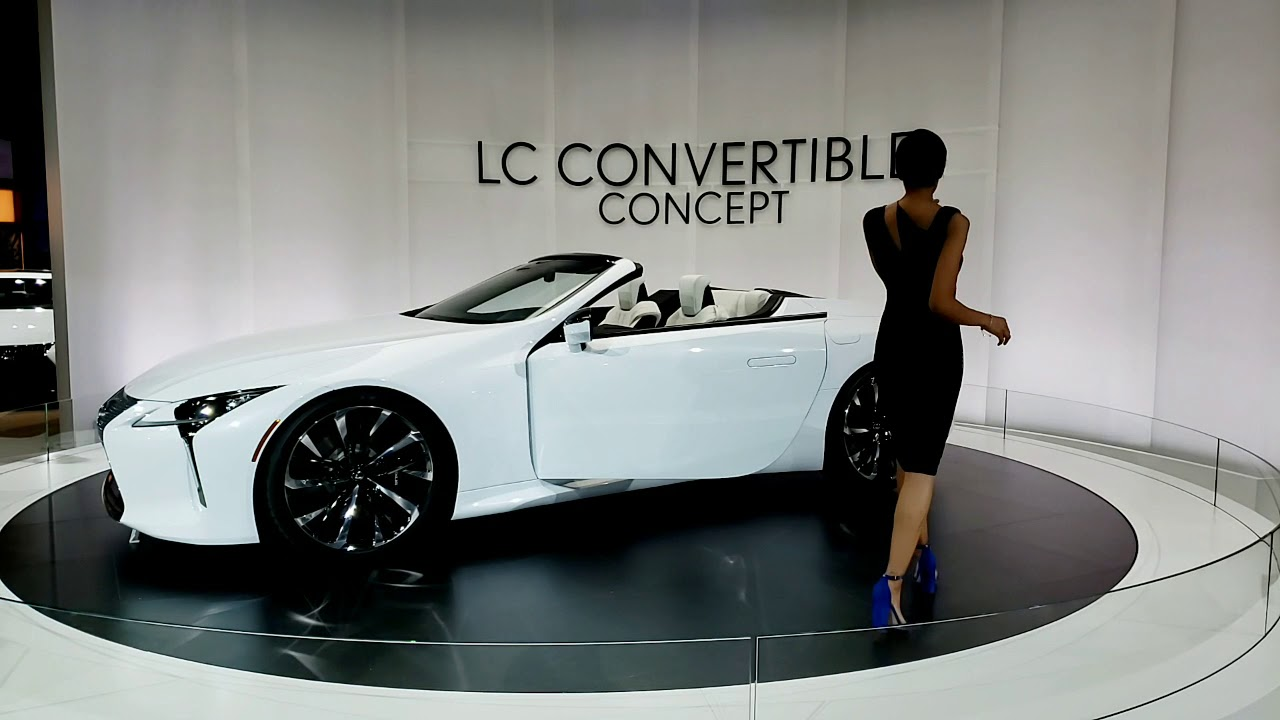 lexus lc 500 convertible concept youtube. Black Bedroom Furniture Sets. Home Design Ideas