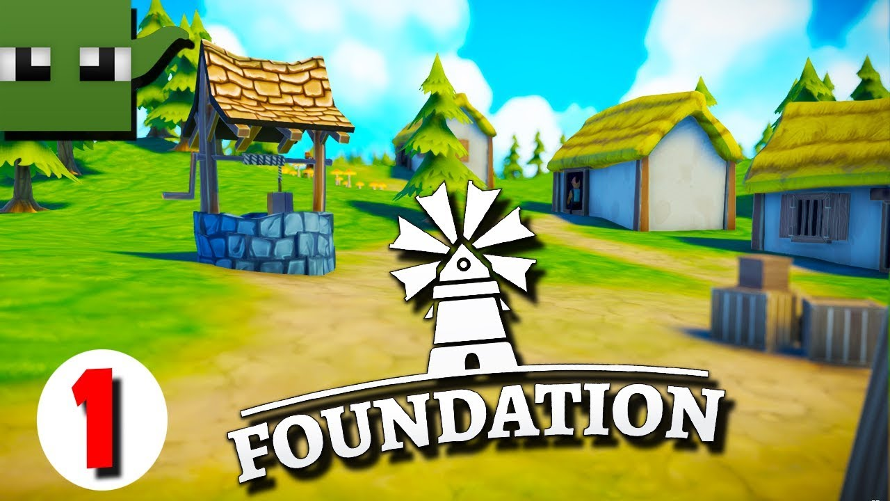 Foundation Polymorph Games foundation - medieval city building game #1 (alpha)
