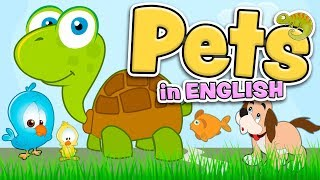 Download PETS in English for kids Mp3 and Videos
