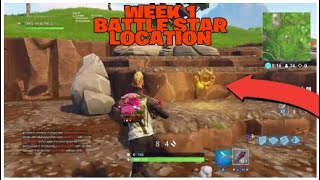 Secret Battle Star Saison 5 Semaine 1 Emplacement 'Road Trip' Challenge! Fortnite Battle Royale Saison 5