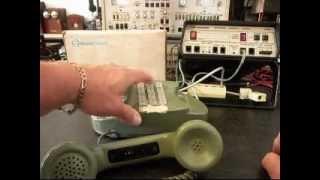 Original Princess Telephone with Amplified Handset Repair Conversion www.A1-Telephone.com