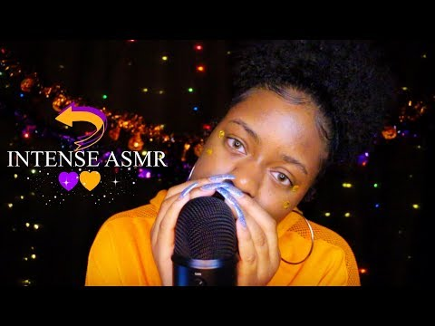 ASMR | INTENSE MOUTH SOUNDS + REVERSE INAUDIBLE WHISPER 💜✨