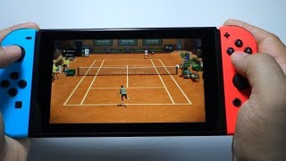 Tennis World Tour Nintendo Switch gameplay