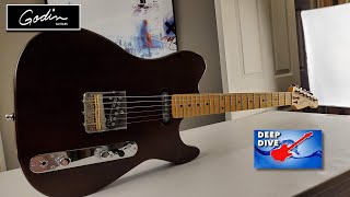 Better than Fender? the Godin Stadium HT is a 🇨🇦 Canadian Masterpiece - Deep Dive Review