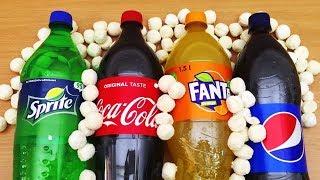 Этого Вы Точно Не Знали о Coca-Cola, Fanta, Sprite и Pepsi | Эксперимент