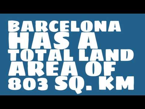 How does the population of Barcelona rank?
