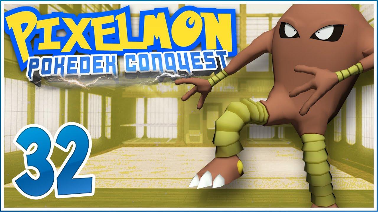 Pixelmon pokedex conquest