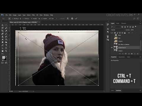 Смарт объекты.  Видеоуроки Photoshop.