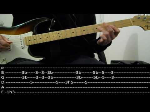 RHCP - Funky monks (lesson w/ tabs)
