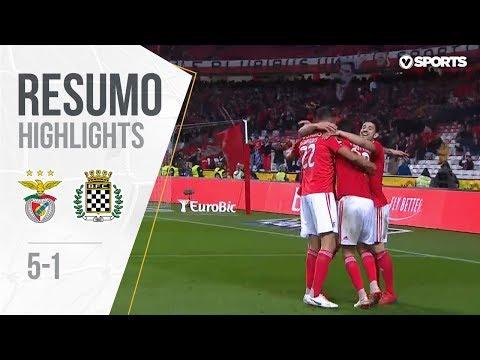 Resumo | Highlights Benfica 5-1 Boavista (Liga 18/19 #19)