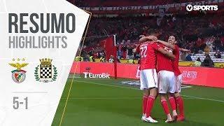Resumo   Highlights Benfica 5-1 Boavista (Liga 18/19 #19)